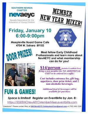SNC NevAEYC New Year Mixer 2020